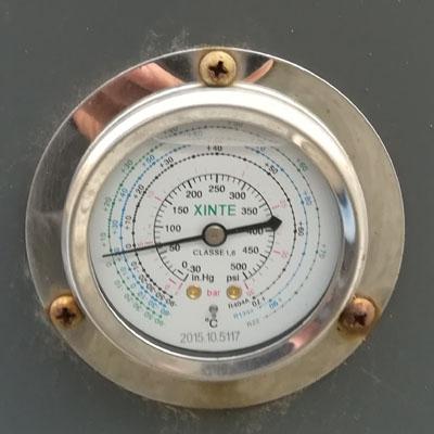 空气能高压表和低压表